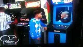 Fake Arcade Game Scene from A.N.T. Farm on Disney Channel