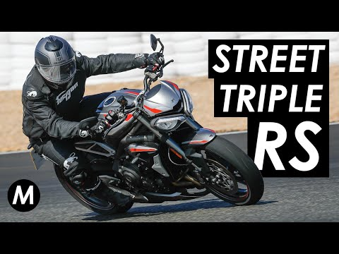 New 2020 Triumph Street Triple First Ride Review