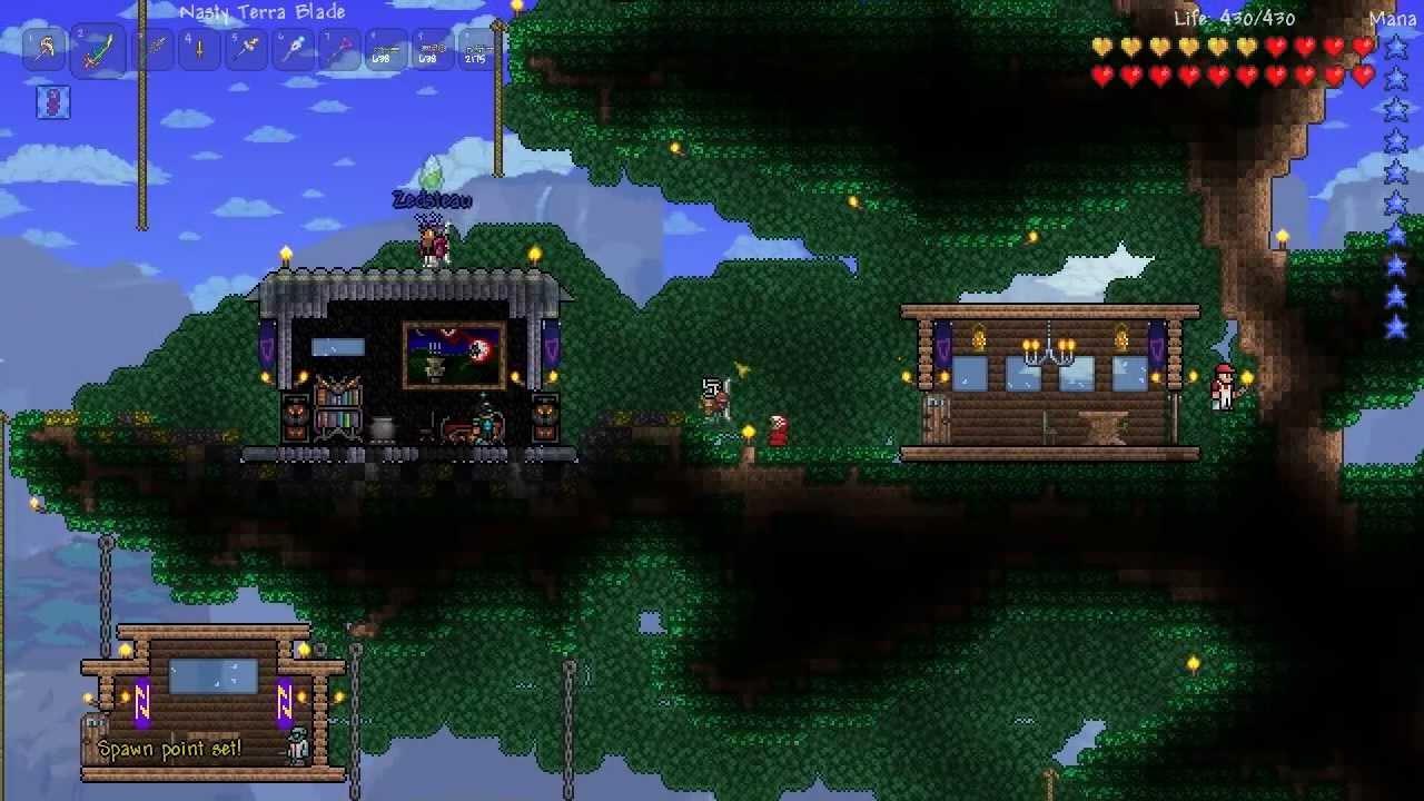 terraria how to make giant mushrooms