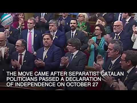 Spain takes direct control of Catalonia and fires separatist leaders | Breaking News!