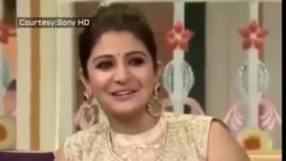 Acteress Anushka Sharma singing ghughuti basuti gadwali song   YouTube 360p