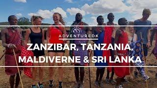 Zanzibar, Tanzania, Maldiverne & Sri Lanka - Adventuredk