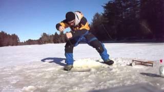 Survivor Man Ice Fishing Part 2