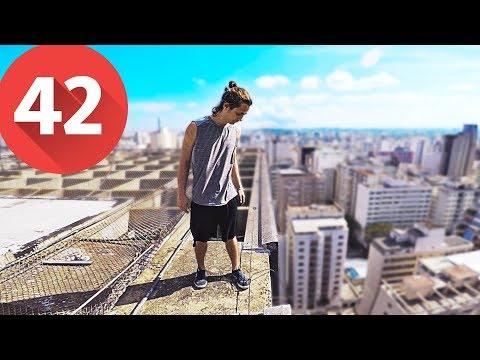 #42 PARKOUR POV IN BRAZIL 9 - MISSION: TO THE TOP - Nada de Interessante