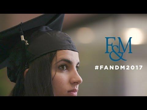 F&M COMMENCEMENT 2017