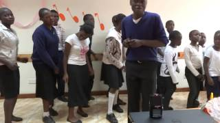 2014 Nairobi Children's Choir Sings Kenyan Praise