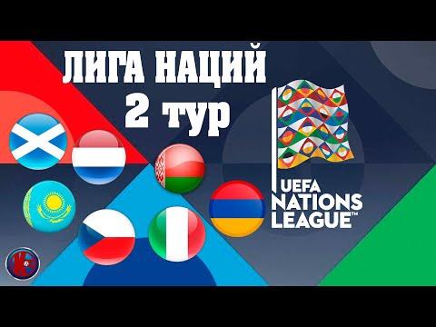 Футбол Лига Наций Второй тур итоги матчей 07.09.2020 Расписание на 8 сентября