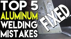 🔥 Top 5 Aluminum Welding Mistakes and How to Fix Them: Part 2 | TIG Time