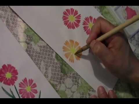 動画で絵手紙コスモスの描き方① Youtube