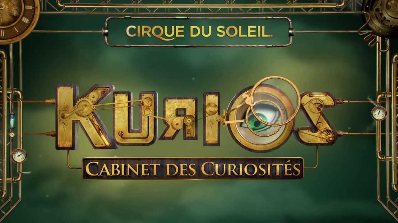 KURIOS - Cabinet des curiosités du Cirque du Soleil - YouTube