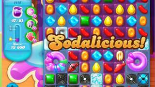 Candy Crush Soda Saga Level 1115 No Boosters