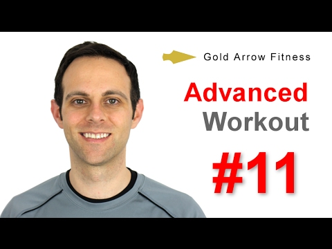 Advanced #11 - HIIT Cardio Workout for Fat Loss