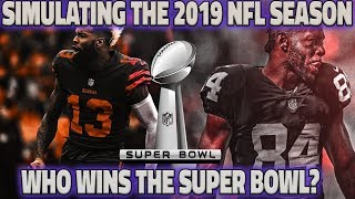 SIMULATING THE 2019 NFL SEASON BASED ON FREE AGENT MOVES USING MADDEN 19 thumbnail