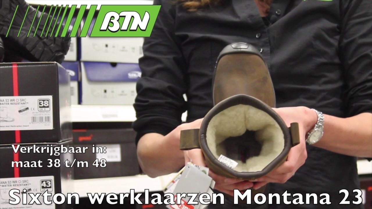 0980f9cb962 BTN de Haas - Sixton werklaarzen Montana 23 - YouTube