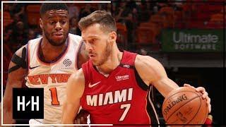 New York Knicks vs Miam Heat - Highlights   March 21, 2018   2017-18 NBA Season