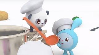 Малышарики - новые серии - Съешь меня! (131 серия) Развивающие мультики для самых маленьких