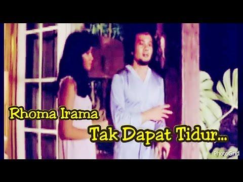 Tak Dapat Tidur - Rhoma Irama ft. Rita Sugiarto - Original Video Clip