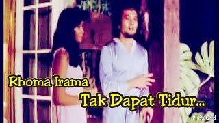 "Gambar cover Tak Dapat Tidur - Rhoma Irama ft. Rita Sugiarto - Original Video Clip ""Cinta Segi Tiga"" - Th 1979"