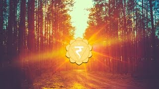 Chakra Meditation Balancing & Healing Music | SOLAR PLEXUS CHAKRA | manipura