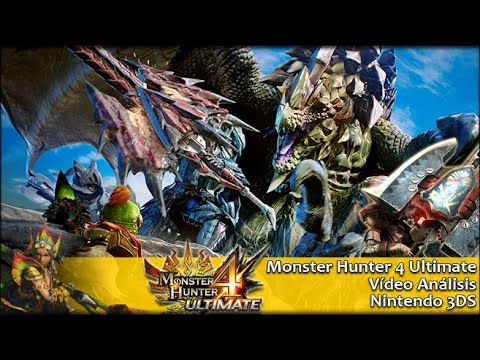 Monster Hunter 4 Ultimate 3DS | Análisis español GameProTV