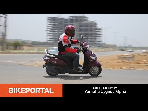 Yamaha Cygnus Alpha - Test Ride Review - Bikeportal