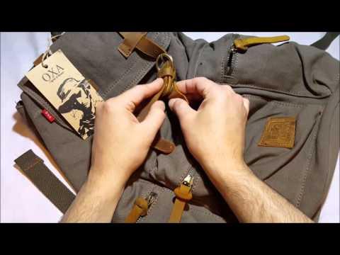 OXA Vintage Backpack Student Bag
