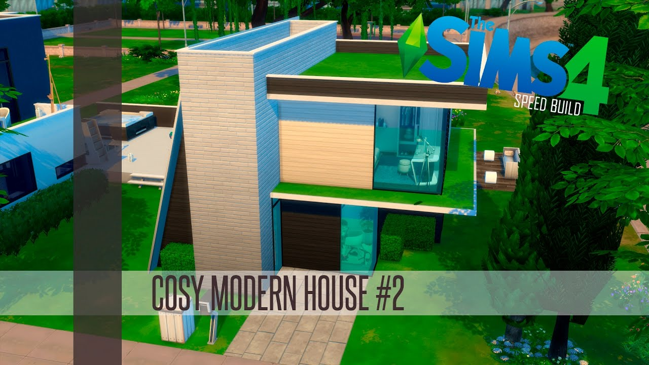 The sims 4 speed build cozy modern house 2 youtube for Yt house music