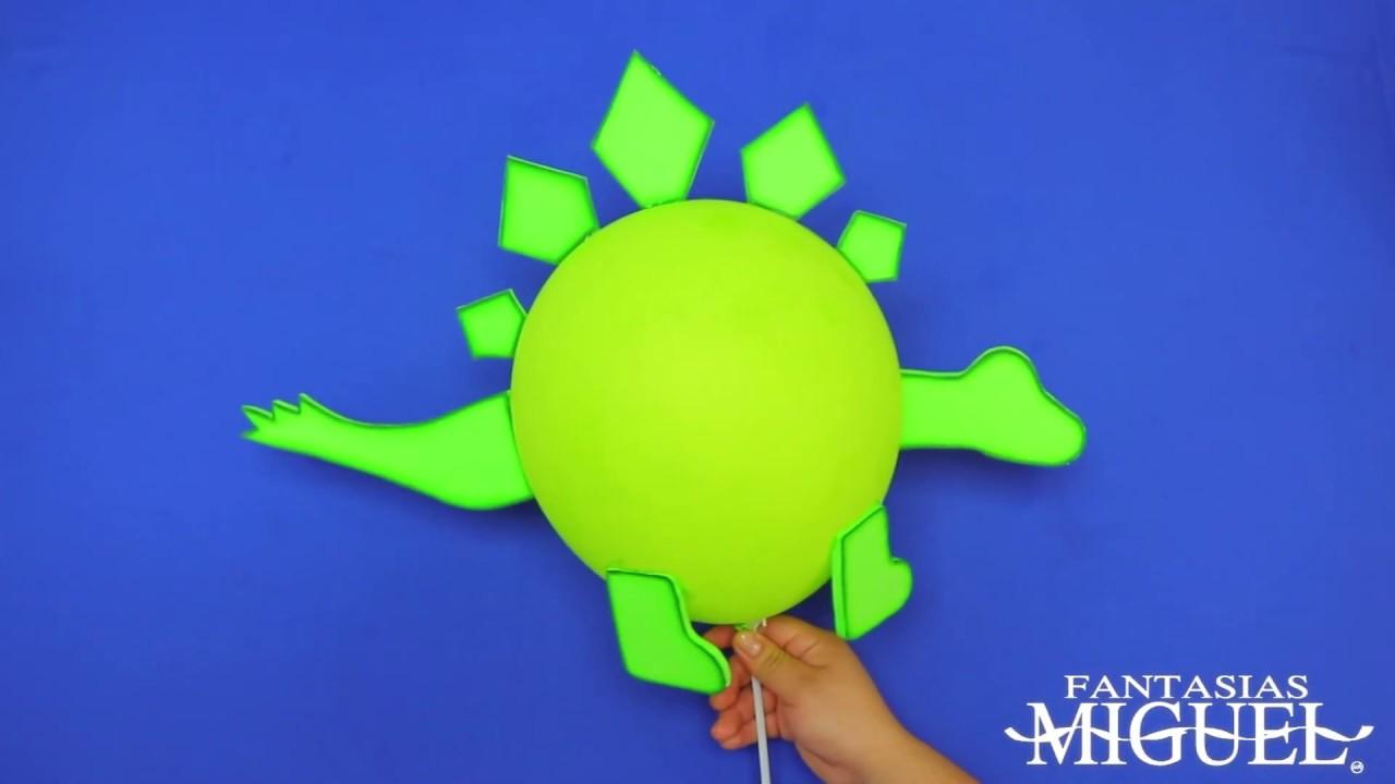 Como Hacer Globos En Forma De Dinosaurio Youtube Globos de gran calidad de 30cm de diámetro. como hacer globos en forma de dinosaurio
