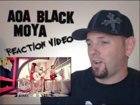 AOA Black - Moya (모야) Kpop MV Reaction (뮤직비디오)(리액션) Grissle Edition