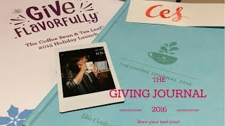 Give Flavorfully with Coffee Bean and Tea Leaf Holiday Planner 2016 || Busyqueenphils Vlog