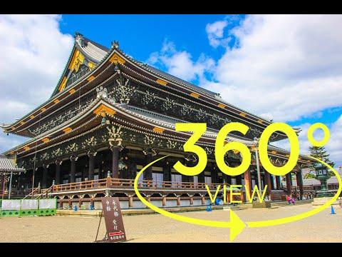 [360°Video(VR)]Higashi Hongan-ji Temple Kyoto / 東本願寺 京都
