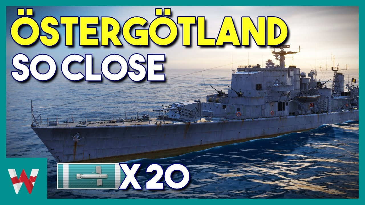 Ostergotland Seconds From Victory World Of Warships Replay Youtube
