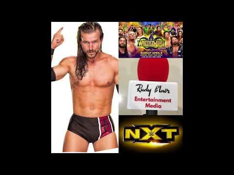Chat w Adam Cole on WWE, NXT & Wrestlemania 34
