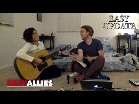 Making a Song with Ashly Burch! - EASY UPDATE 35