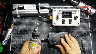 대용량(10A) DC 모터 정역및 속도조절 컨트롤러