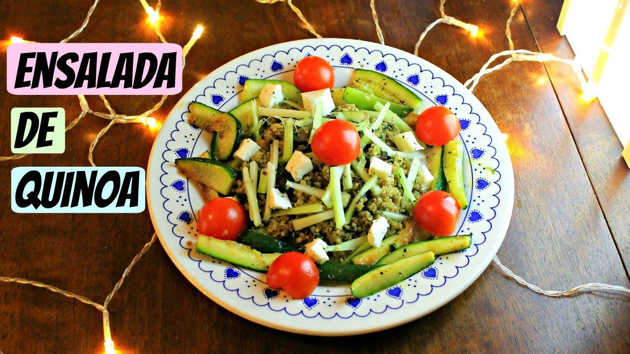 La mejor ensalada de quinoa youtube for Las mejores ensaladas