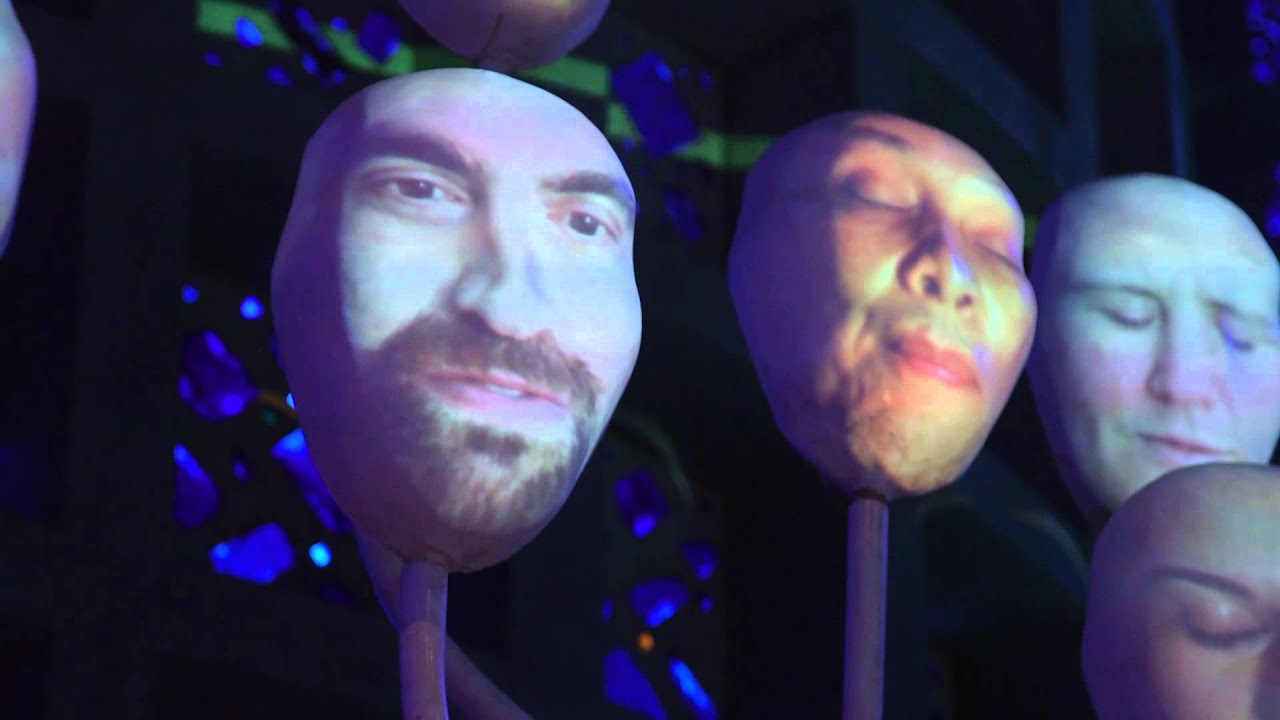 World Maker Faire 2015 - Lumiphonic Creature Choir