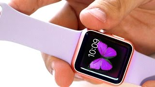 Rose Gold Apple Watch Sport | Unboxing