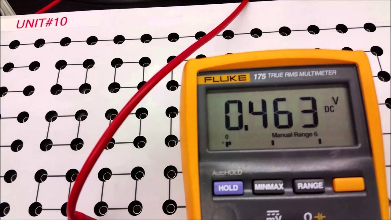 Basic Electronics Lab4 Diode Characteristics In Forward Or Reverse Measurements Electronic Bias