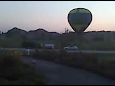 Look who's comming to dinner! Lake Geneva Hot Air Balloons!