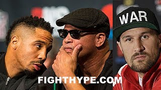 ANDRE WARD REACTS TO KOVALEV SAYING HE'D WORK WITH VIRGIL HUNTER