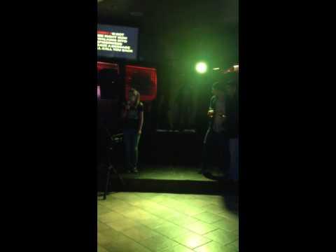Weston and Matt karaoke 2
