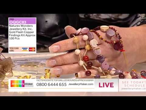 How to make Wirework Jewellery - JewelleryMaker LIVE 20/7/14