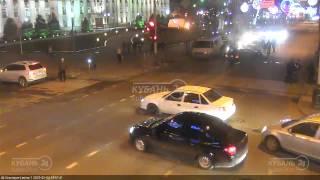 ДТП на ул. Красной и ул. Ленина 04.02.15