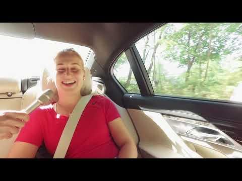 Daria Gavrilova - interview in car