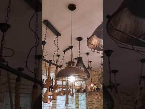 Hot Sale Vintage Pendant lamp High bay light copper rustic pendant light decorative hanging lamp