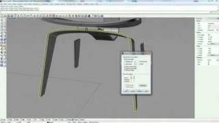 Modeling A Bent Plywood Chair 1