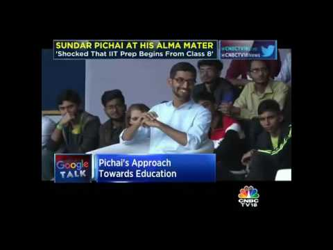 Google Talk: Sundar Pichai At His Alma Mater, IIT Kharagpur- Part 2
