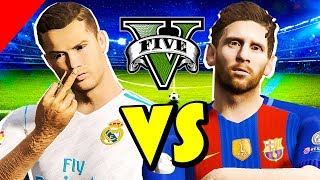 RONALDO vs. MESSI w GTA V