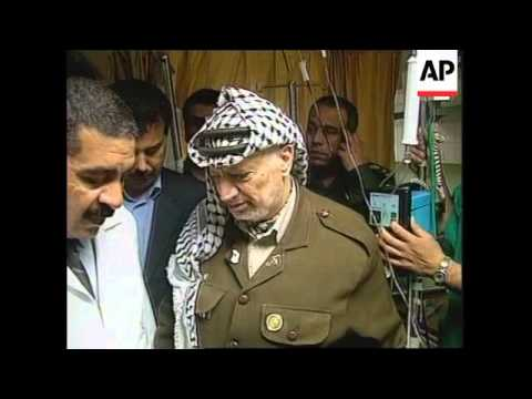 Palestinian Leader visits mother of baby killed in shelling